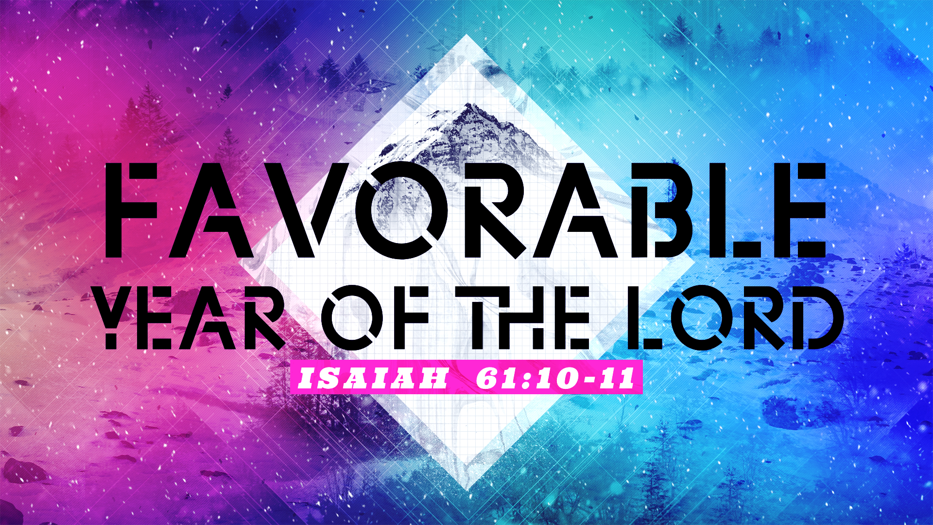 The Favorable Year of the Lord